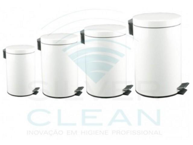 Balde Silver Clean 20Lt Branco
