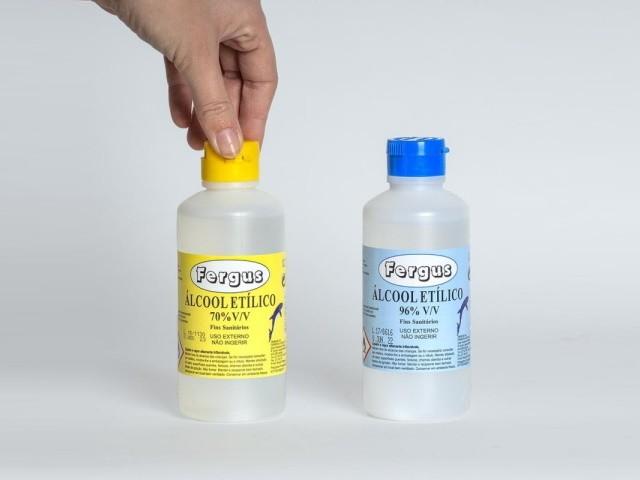 Alcool Etilico 70º  250Ml