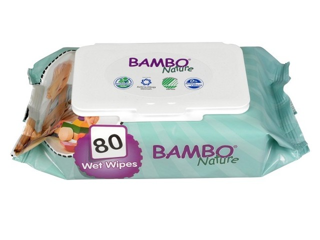 Toalhitas Humidas Bambo...