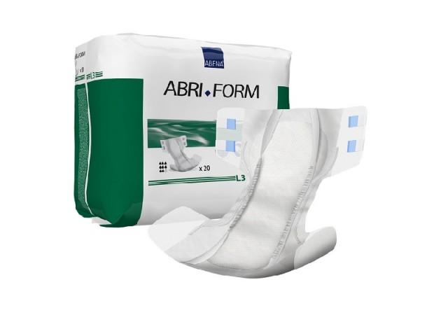 Fraldas Abri-Form Conf. 3L...
