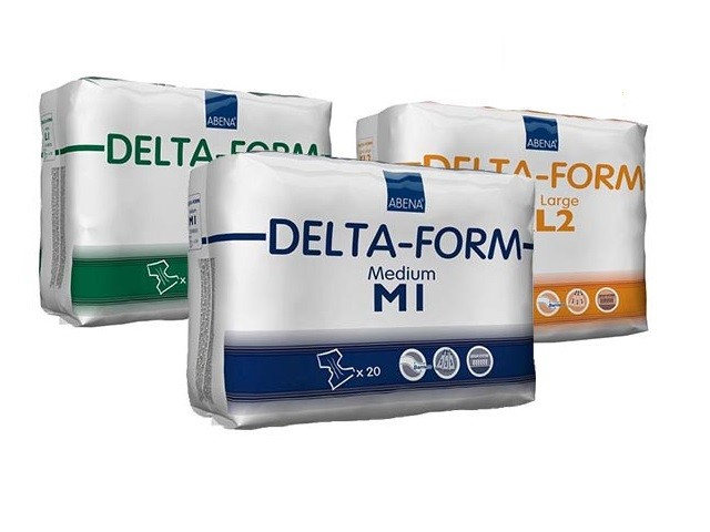Fraldas Delta-Form 1M Plus...