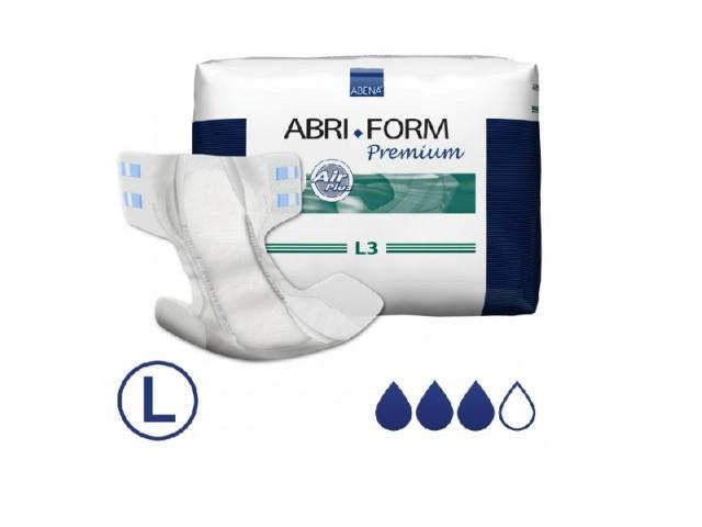 Fraldas Abri-Form 3L  Extra...