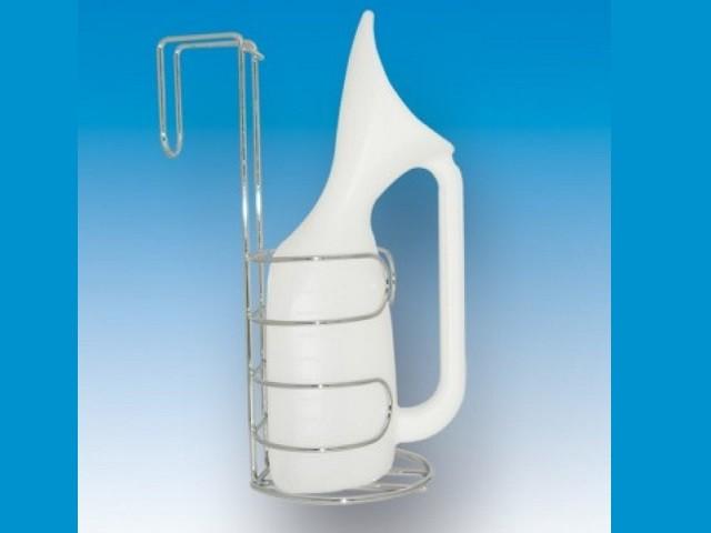 Suporte P/urinol Cromado