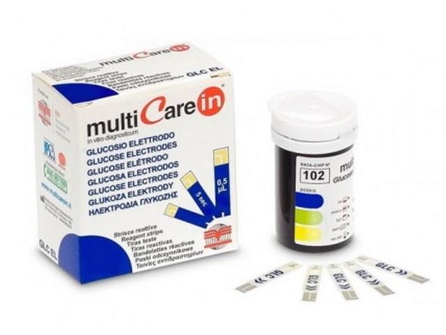 Multicare In Tiras Glucose...
