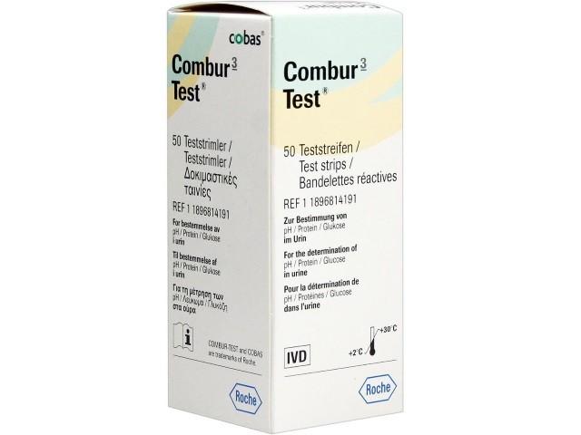 Combur  3 Ph+Proteínas+Glucose