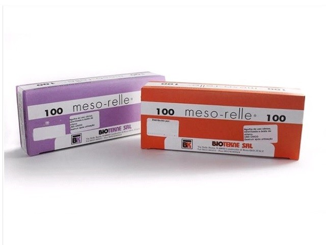 Agulhas Mesoterapia 30G...