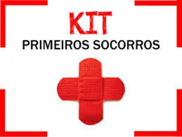 Kit Primeiros Socorros...
