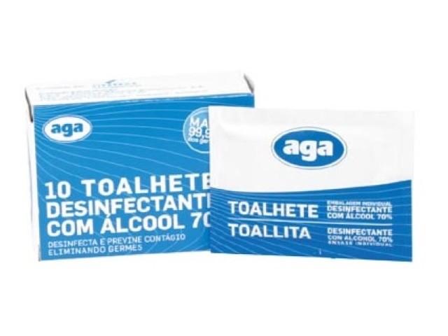 Desinfetante Toalhetes Aga...