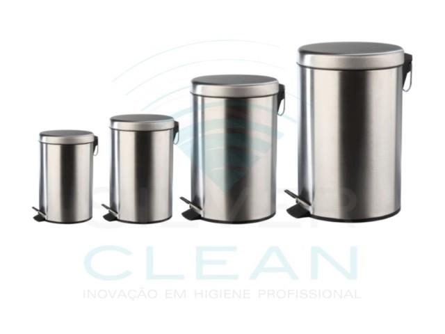 Balde Silver Clean  5Lt Branco