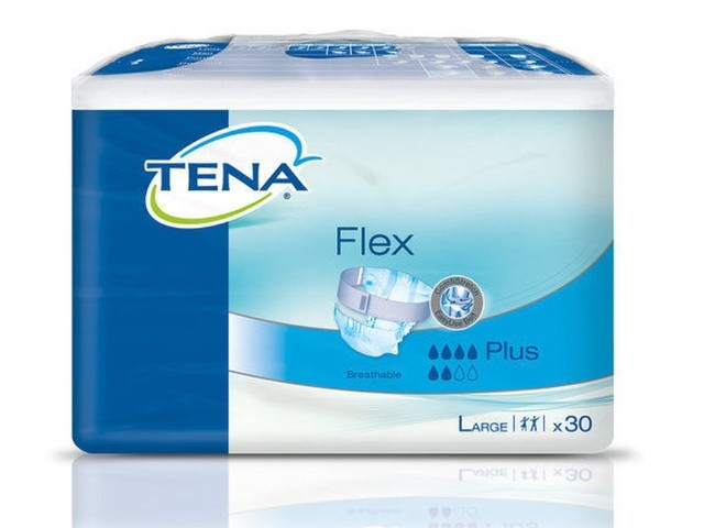 Fraldas Tena Flex Plus L...
