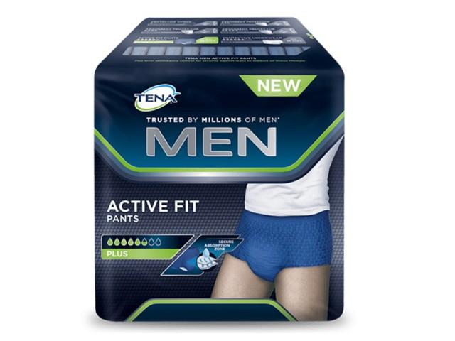 Fraldas Tena Men Active Fit...