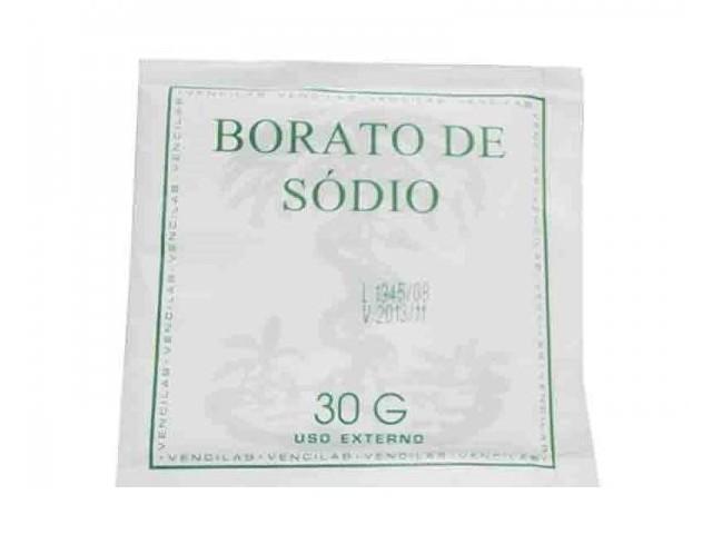 Borato de Sodio 30Gr