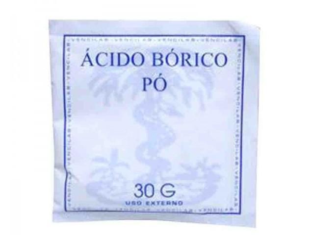 Acido Borico 30Gr