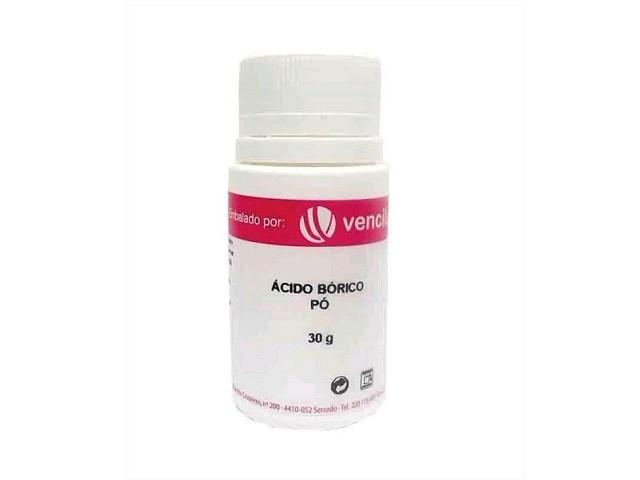 Acido Borico 30Gr Frasco