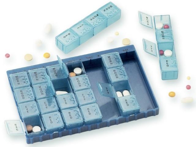 Porta Comprimidos Pilbox 7Dias