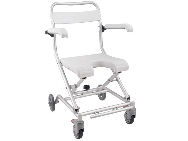 Cadeira Banho Commode Aluminio