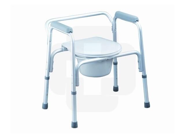Cadeira Banho C/sanitario Fixa