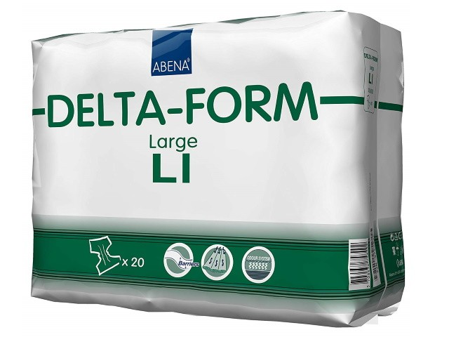 Fraldas Delta-Form L1 Plus...