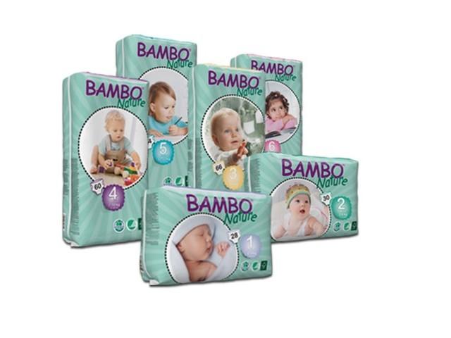 Fraldas Bambo    1-  3Kg...