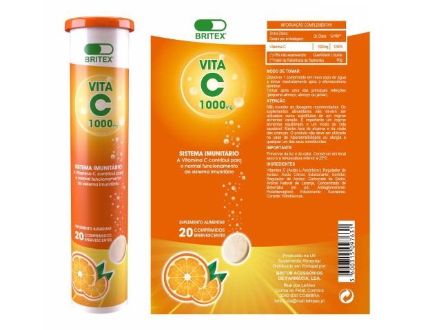 Vitamina C 1000G 20...