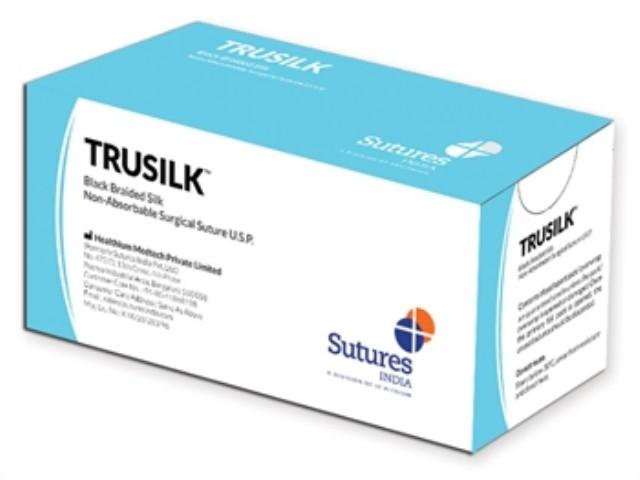 Sutura Trusilk 3/0 1/2-75Cm...