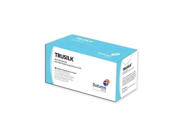 Sutura Trusilk 2/0 1/2-75Cm...