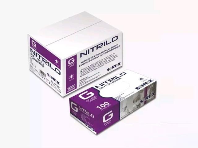 Luvas Nitrilo Nitriflex...