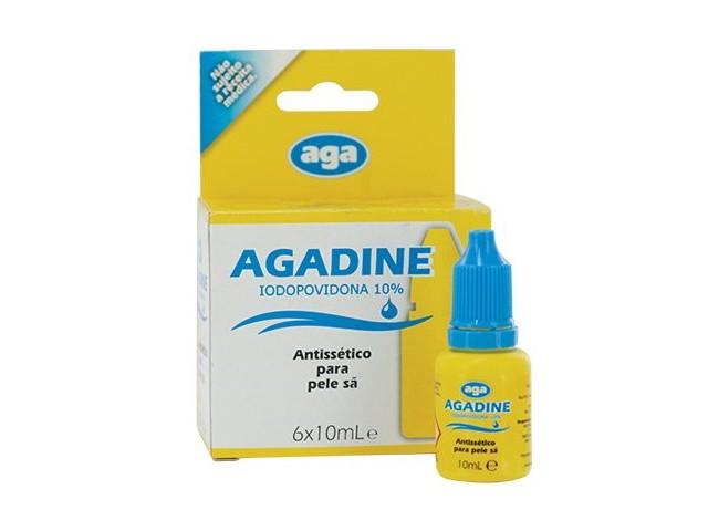 Iodopovidona Agadine...