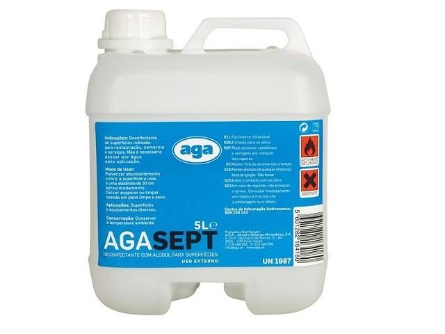 Desinfetante Agasept 5000Ml...