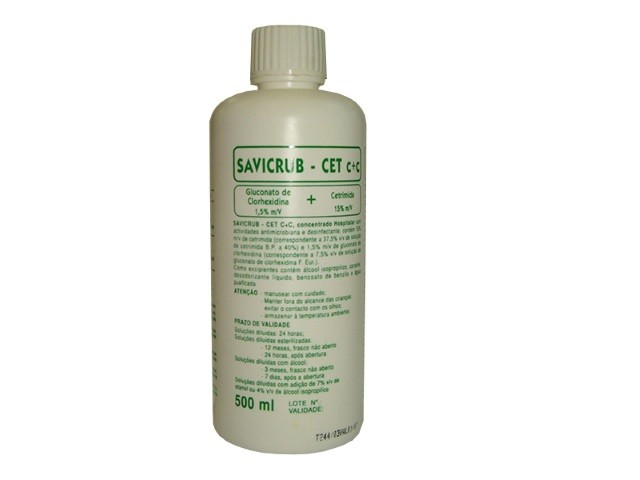 Savicrub Cet Clorhexidina...