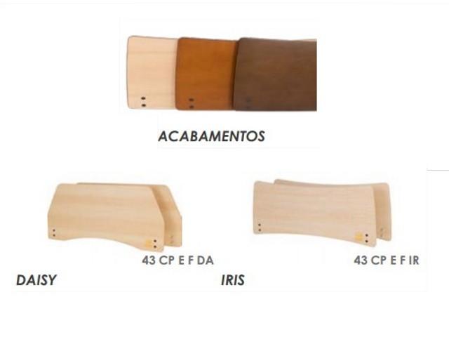 Kit Cabeceira E Pes Iris...