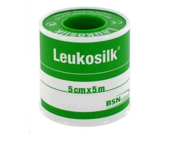 Adesivo Leukosilk C/aro...