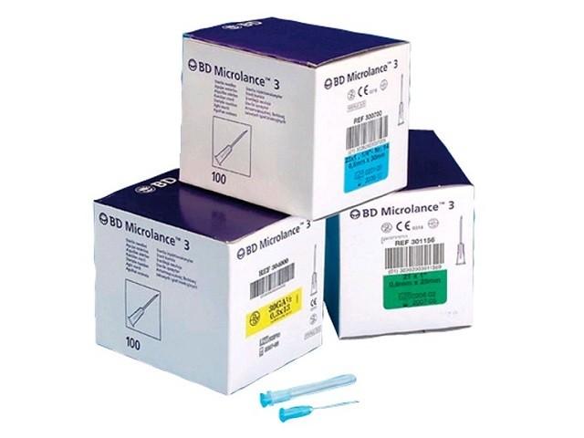 Agulhas Bd Microlance G23 1...